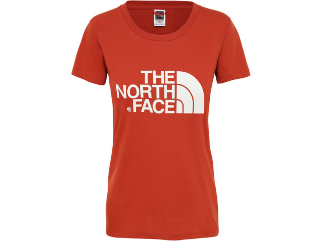 The North Face Easy Camiseta Manga Corta Mujer, picante red